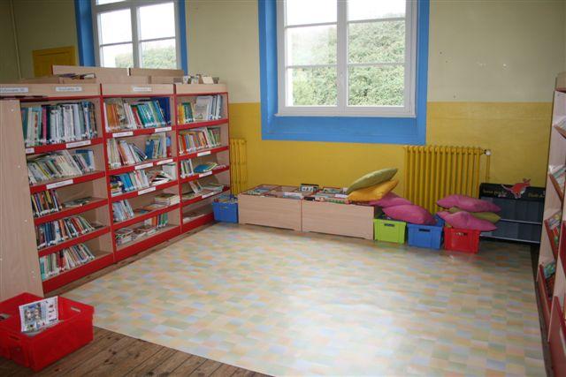 école sainte marie bibliotheque